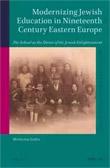 Modernizing Jewish Education in Nineteenth Century Eastern Europe